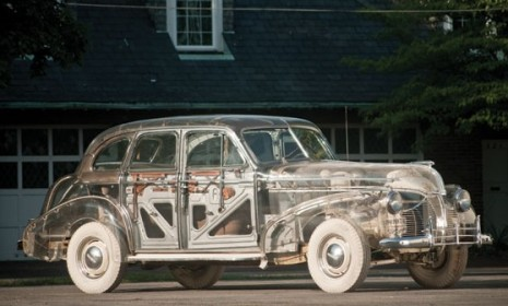 1939 Pontiac Deluxe Six 'Ghost Car' Image: RM Auctions