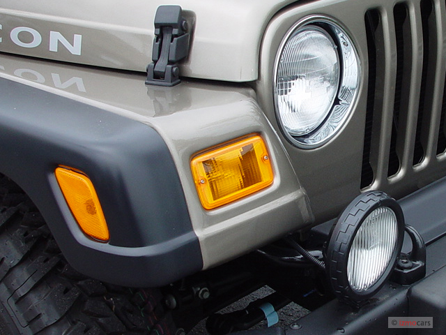 2005 Jeep Wrangler Headlight Diagram