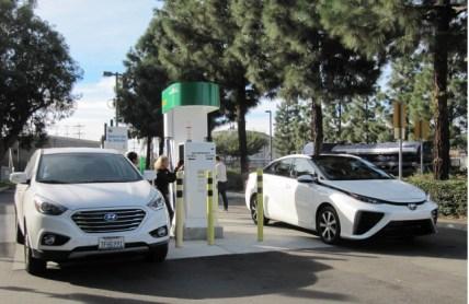 2016 Toyota Mirai hydrogen fuel-cell car, Newport Beach, CA, Nov 2014