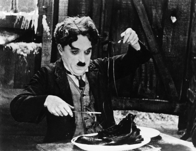 Charlie Chaplin, The Gold Rush (1925)