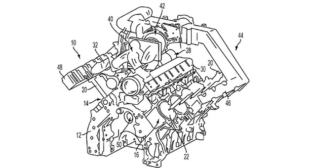 Ford patent reveals plans for turbocharged pushrod V8