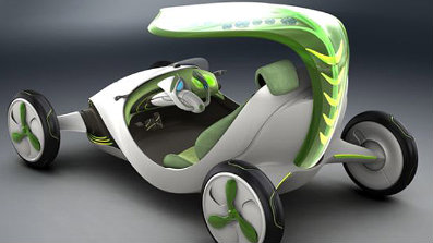 SAIC YeZ Concept - Negative-Emissions Vehicle Concept From China's SAIC: A Plant On Wheels!