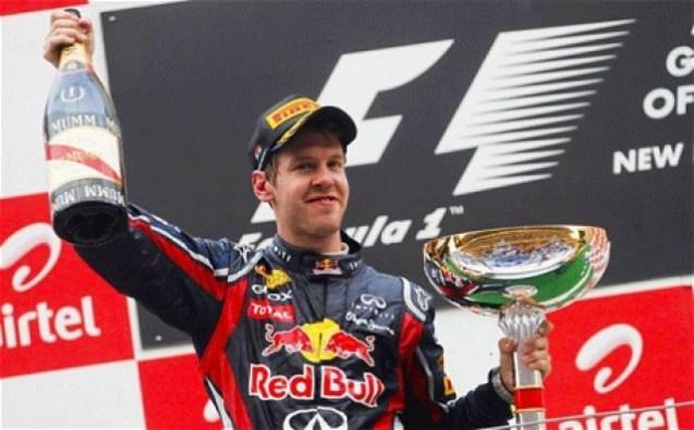 Vettel—India 2012