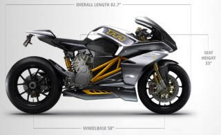 2014 Mission R electric motorcycle