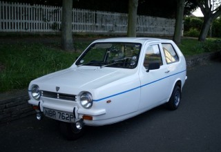 Reliant Robin (Image by Flickr user Yaffa Phillips, used under CC License 2.0)