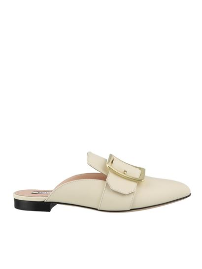 Bally Spring Summer 2020 janesse leather flat mules - 6228196