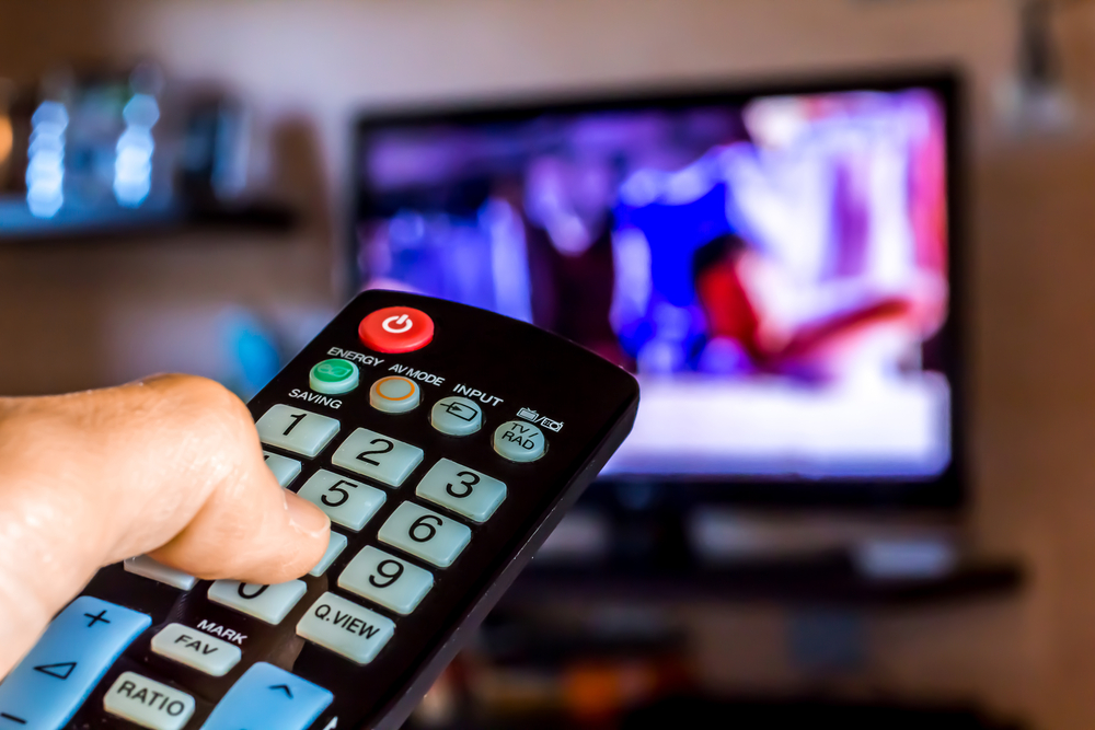 Image result for changing channels on tv