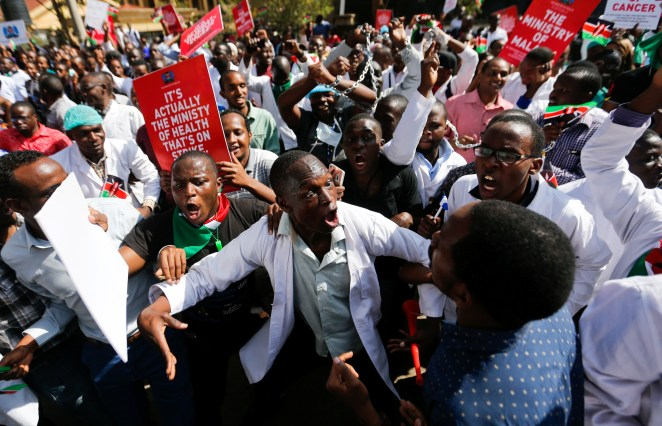 Why Kenya has been unable to end a two-month long doctors' strike