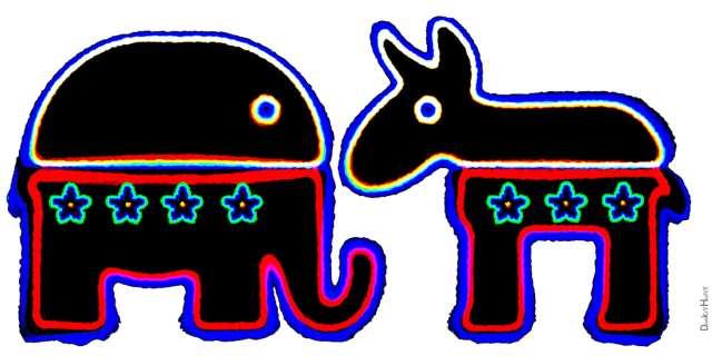 political polarization Stroop Effect