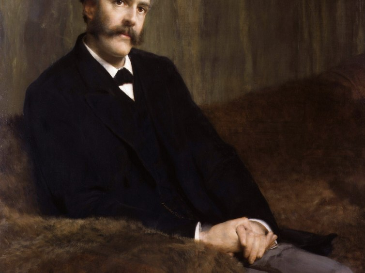 Arthur Balfour painted by Lawrence Alma-Tadema. Credit: Wikimedia Commons