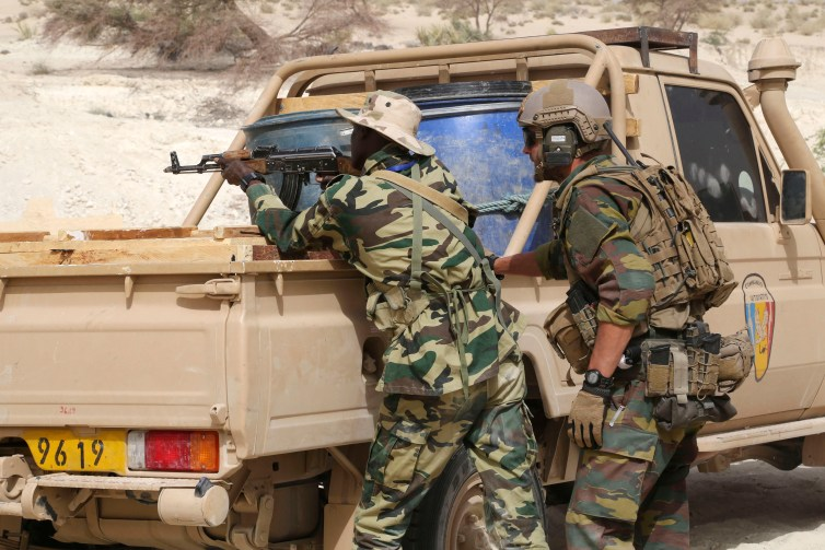 The presence of US troops in Africa must be questioned by governments and citizens. Emmanuel Braun/Reuters