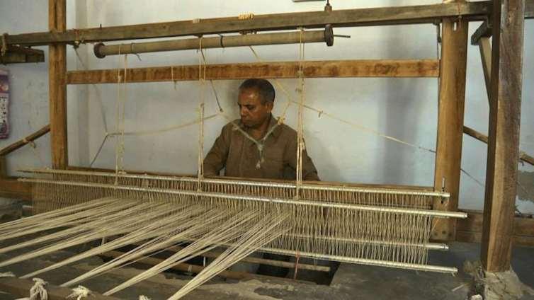Naranbhai Siju, Weaver and Community Archivist. Credit: KP Jayasankar