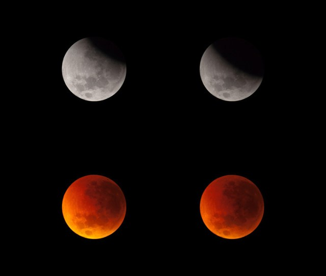 The Steady Progression Of An Eclipse As The Moon Drifts Into The Earths Shadow June 16 2011 Phil Hart Author Provided