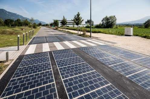 solar panels replaced tarmac
