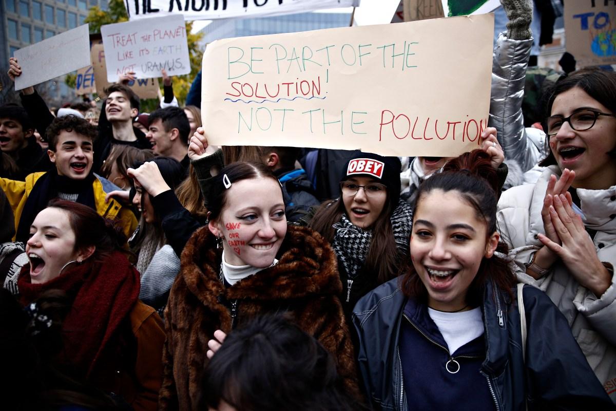 climate change young people