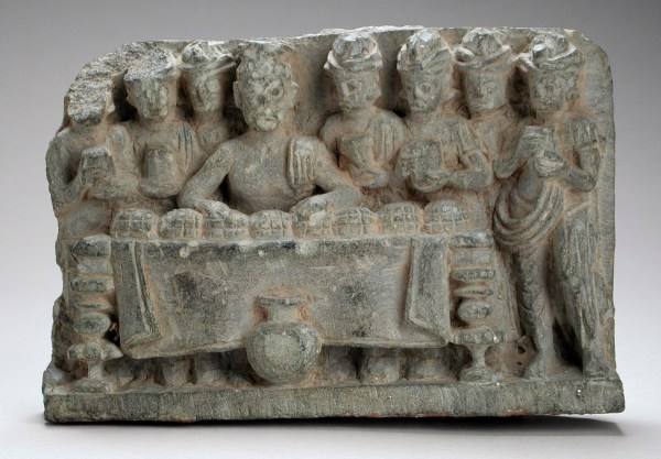 Robots guarded Buddha's relics in a legend of ancient India