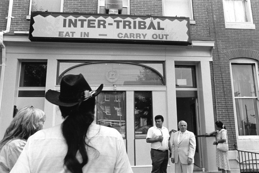 The Inter-Tribal Restaurant was owned and operated by the Baltimore American Indian Center in the unit block of South Broadway.Photo courtesy of the Baltimore American Indian Center, author provided.