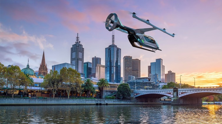 Uber In The Air Flying Taxi Trials May Lead To Passenger