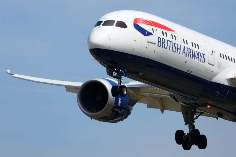 British Airways Boeing 787-9 Dreamliner.