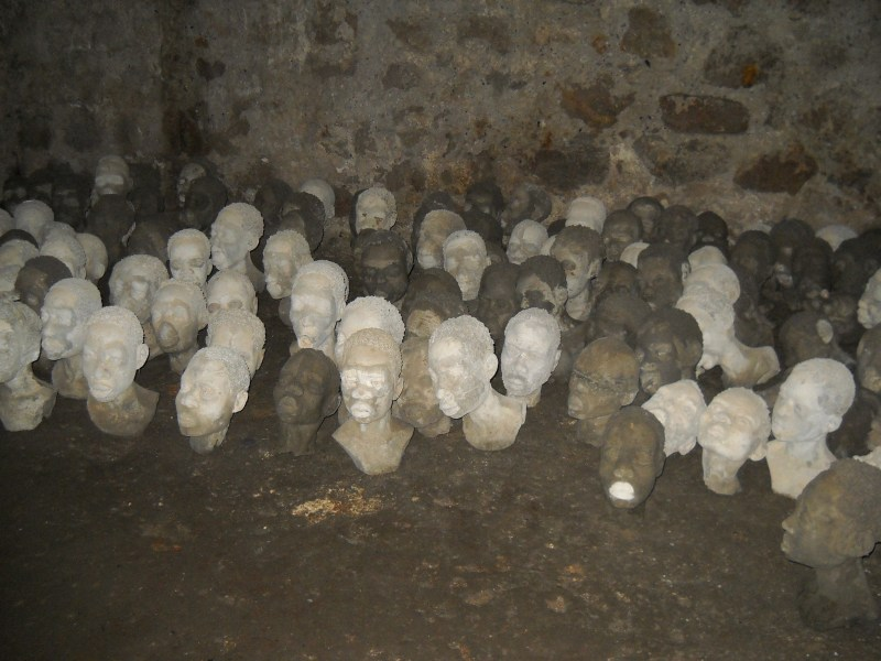 In Ghana, a dungeon for enslaved females.