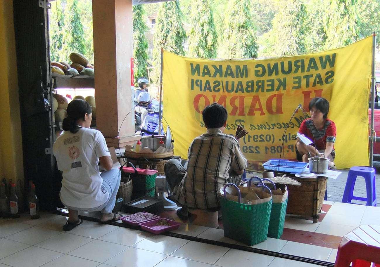 Cibo tradizionale in Indonesia
