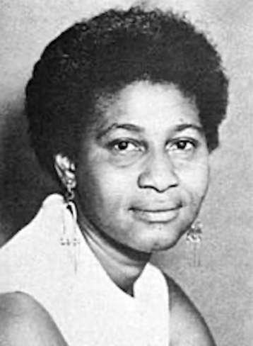A portrait of Charlene Mitchell
