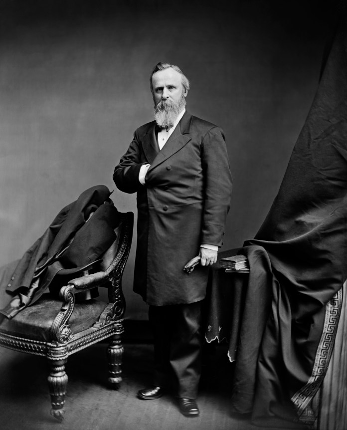 President Rutherford Hayes.