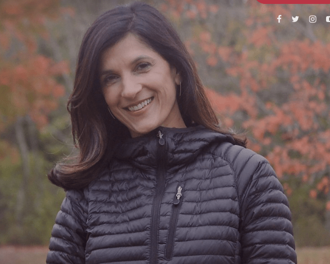 Photo of Sara Gideon in a casual jacket.