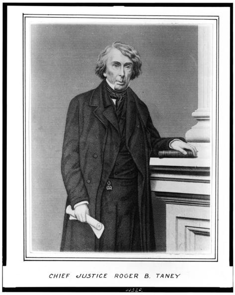 Chief Justice Roger Taney.