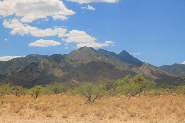 Desert research site in Arizona