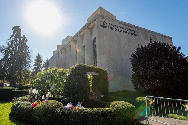 the Tree of Life Synagogue in Pittsburgh