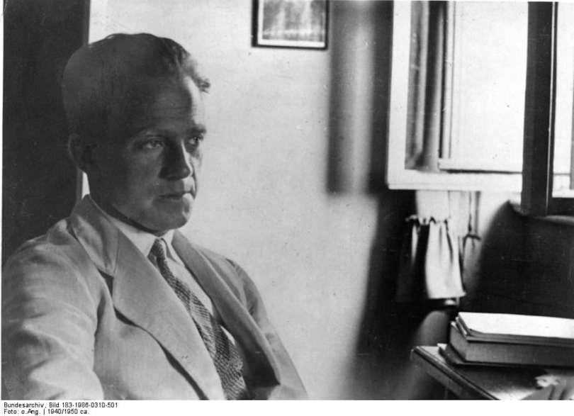 Nobel Prize-winning physicist Werner Heisenberg.