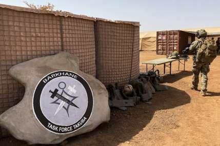 Le logo de l'opération Barkhane