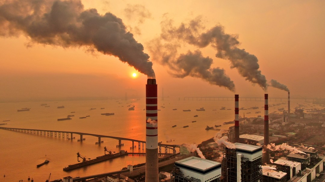 coal plant in China