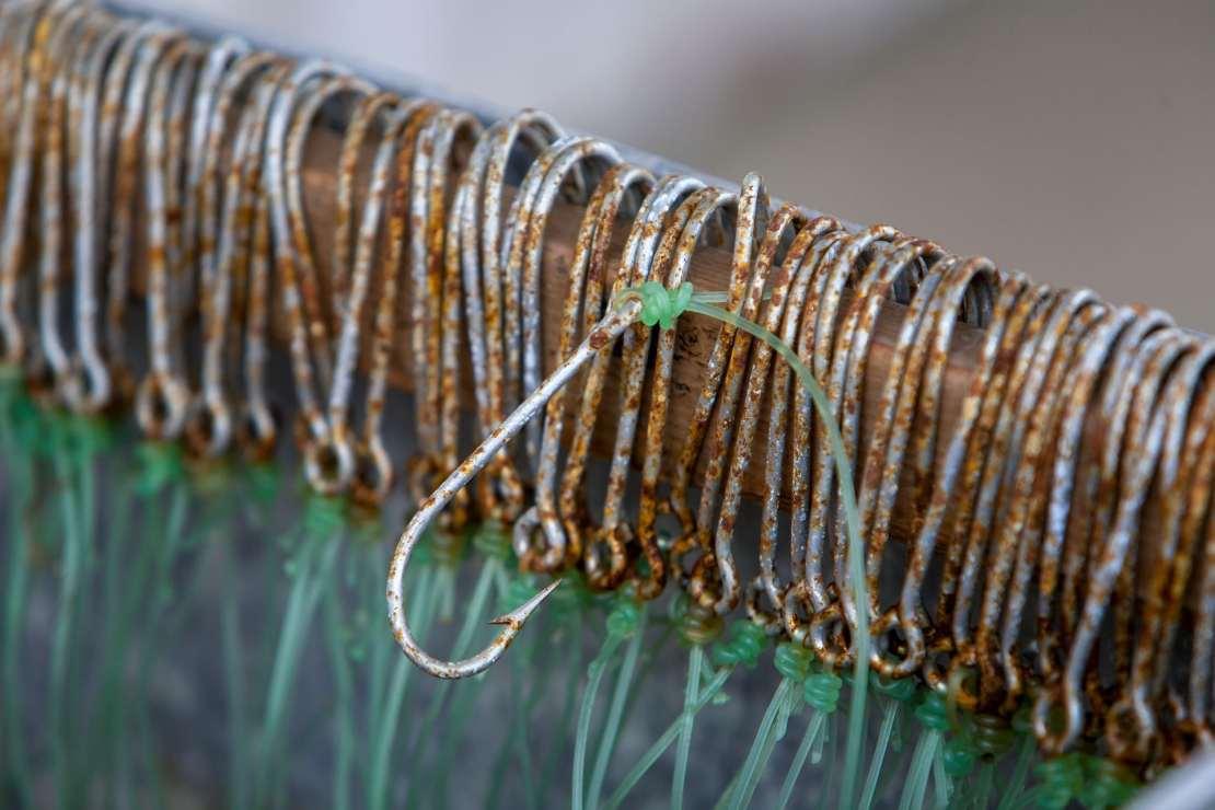 Longline fishing hooks