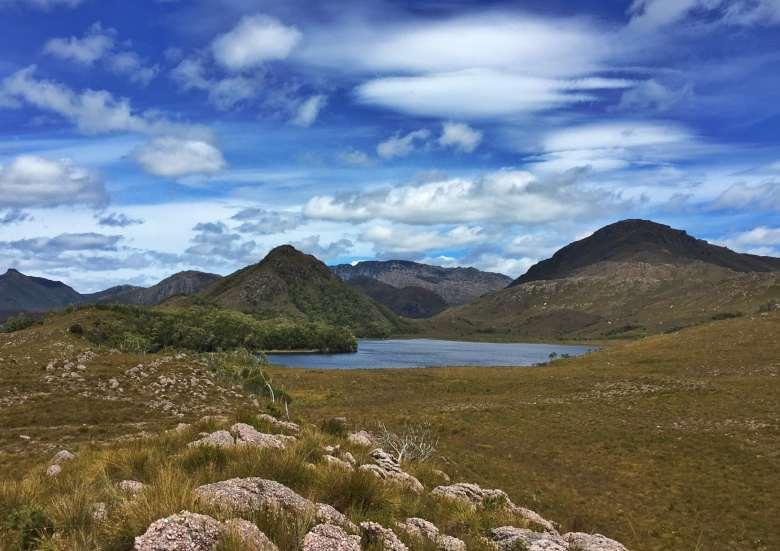 Lake Selina, Tasmania.