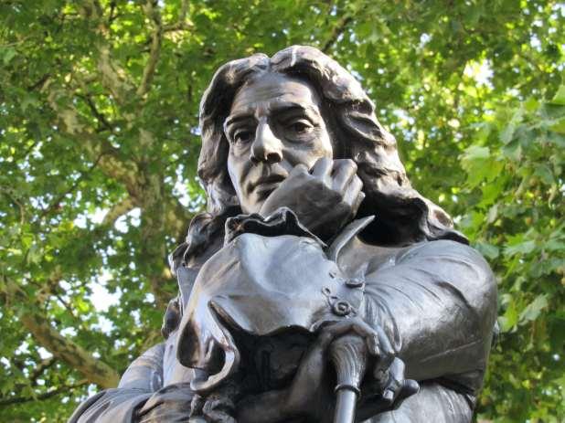 Statue of Edward Colston.