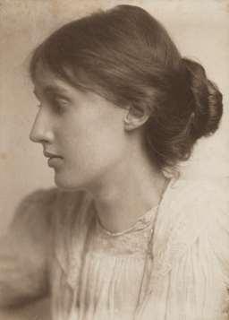 Photograph of Virginia Woolf.