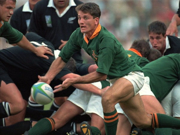 The All Blacks lost the 1995 final in extra time.