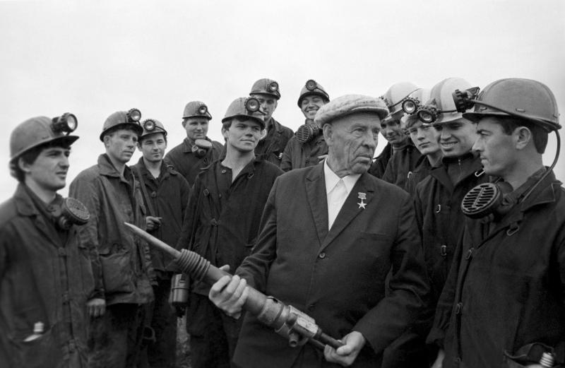 A group of coal miners.