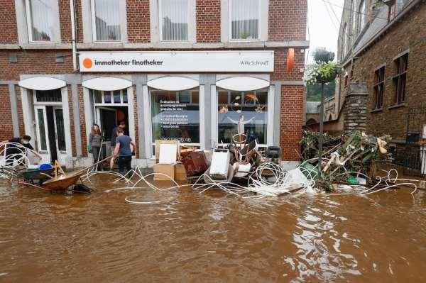 наводнения в бельгии