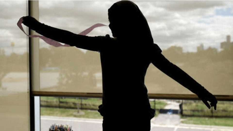 Silhouette image of a participant engaging in streamers activity described in story