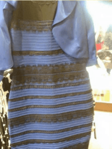 The dress that become a viral internet sensation in 2015.