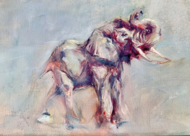 An illustration of an elephant