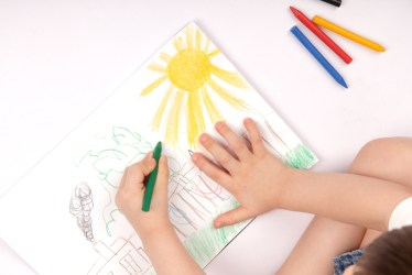 Want to improve your kids writing? Let them draw