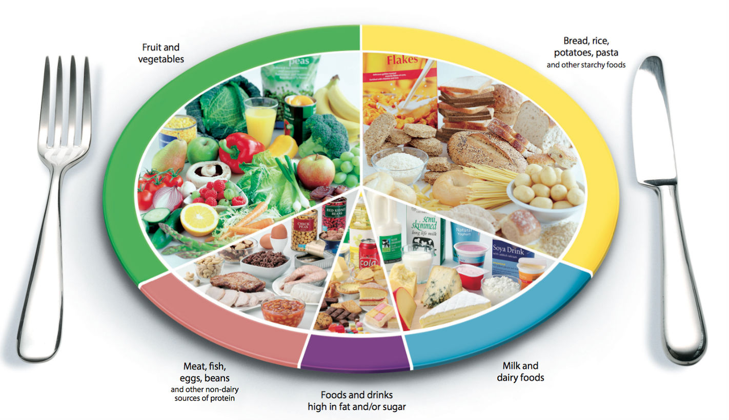 Official healthy food guide hasn   changed in years five things that need updating also how reliable is the eatwell chart of what foods rh theconversation