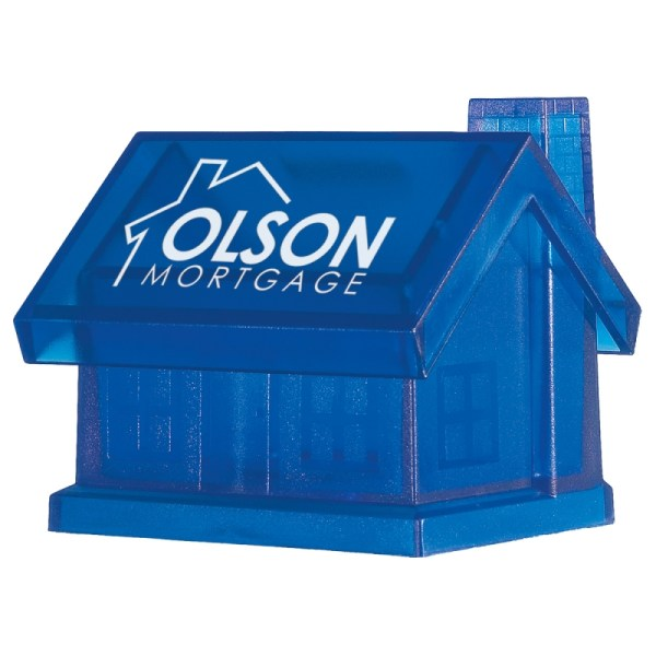 Promotional Plastic House Shape Bank Customized