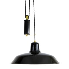 Kitchen Island Pendant Lights Cabinet Drawer Replacement Parts Lighting > Old School Rise & Fall Light - The ...