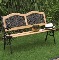 Garden Benches Metal Metal Garden Bench Ebay | Outdoor And ...