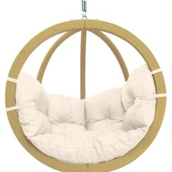 Indoor Swing Chairs Uk Best Chair Back Pain Globo Single Pod Only - Natural The Garden Factory